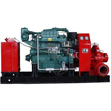 产品概述 XBC系列柴油机消防泵组是本公司严格按照国家标准GB6245-2006(消防泵)及美国消防协会NFPA20(离心消防泵的安装)等技术要求研制开发的一种新型的多功能消防设备。XBC系列产品集工业自动化控制技术,流体机械和机械制造为一体,本公司根据机组设备按所配用的消防泵可分为XBC-IS.